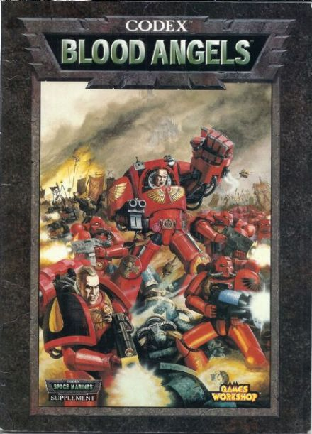 Blood Angel Codex Rulebook 1998